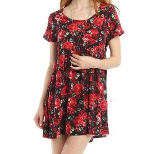 Dresses & Skirts - American Apparel Printed Babydoll Dress